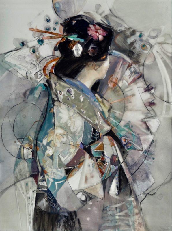 Allure of Kimono by Carla O'Connor