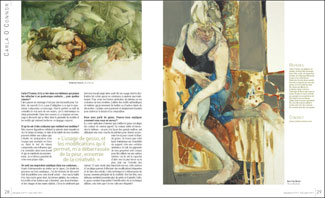 Carla in L'aquarelle magazine
