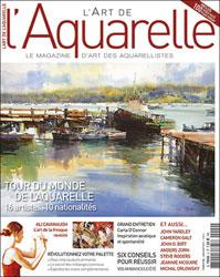 magazine cover L'Aquarelle